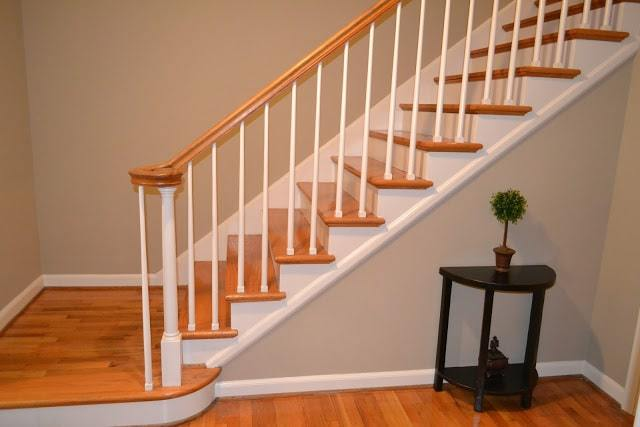 17a stairway after